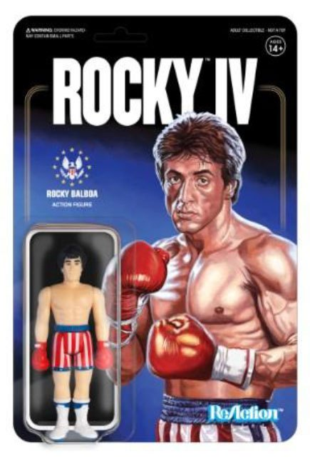 Photo du produit ROCKY 4 FIGURINE REACTION ROCKY 10 CM