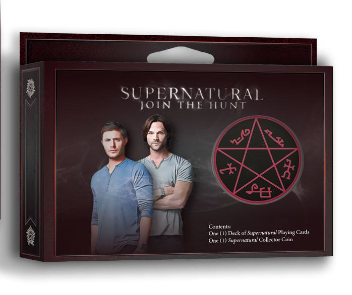 Photo du produit SUPERNATURAL JEU DE CARTES A JOUER