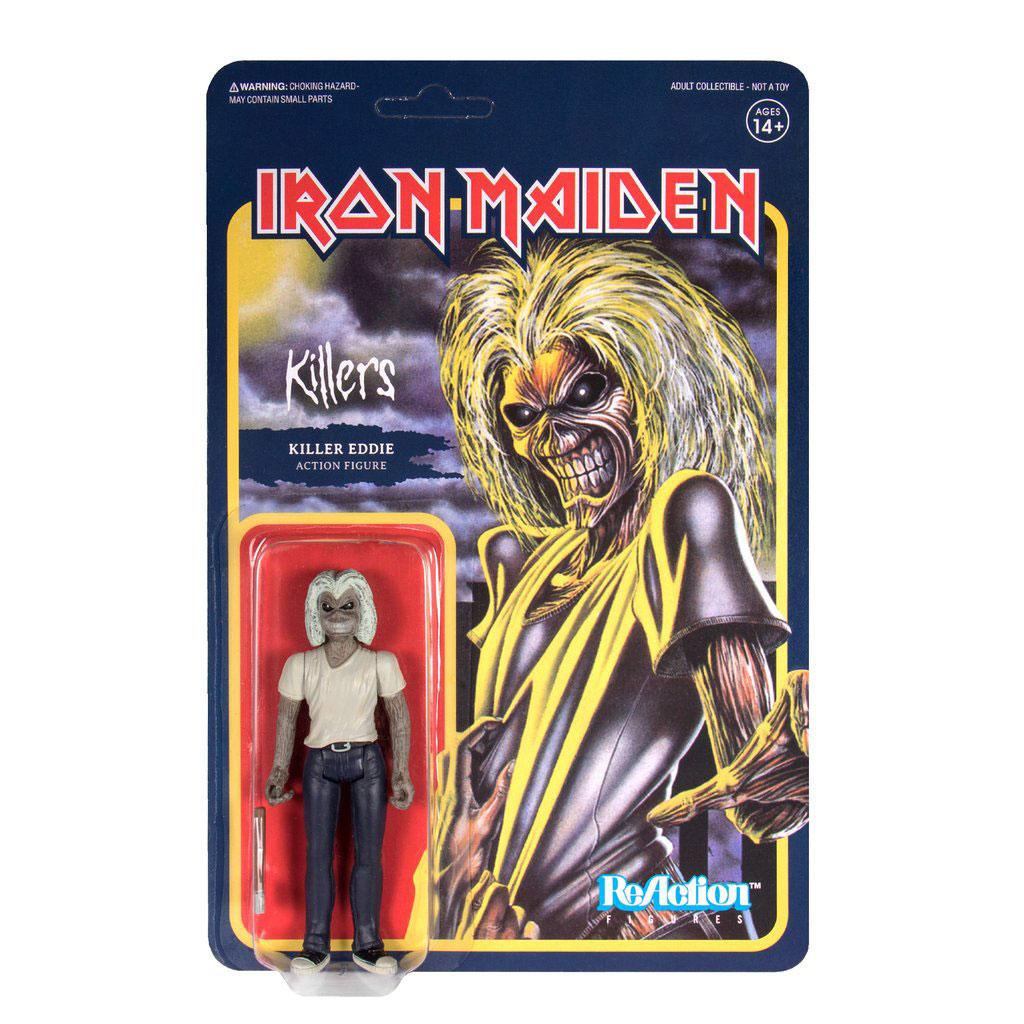 Photo du produit FIGURINE REACTION IRON MAIDEN KILLERS (KILLER EDDIE)