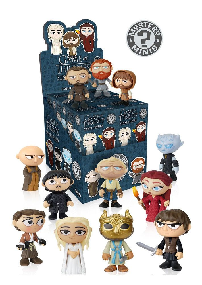 Photo du produit GAME OF THRONES SÉRIE 3 PRESENTOIR + 12 MYSTERY FIGURINES