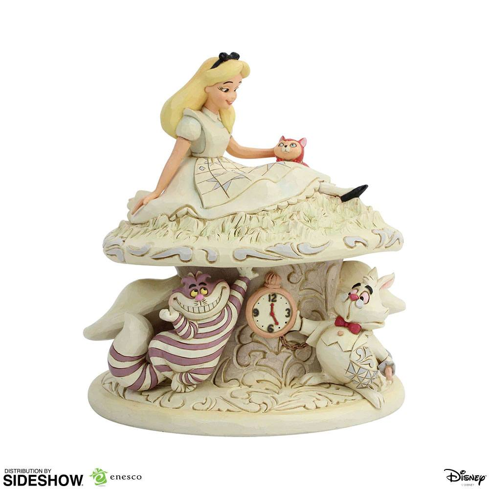 Photo du produit DISNEY STATUETTE WHITE WOODLAND ALICE IN WONDERLAND (ALICE AU PAYS DES MERVEILLES) 18 CM
