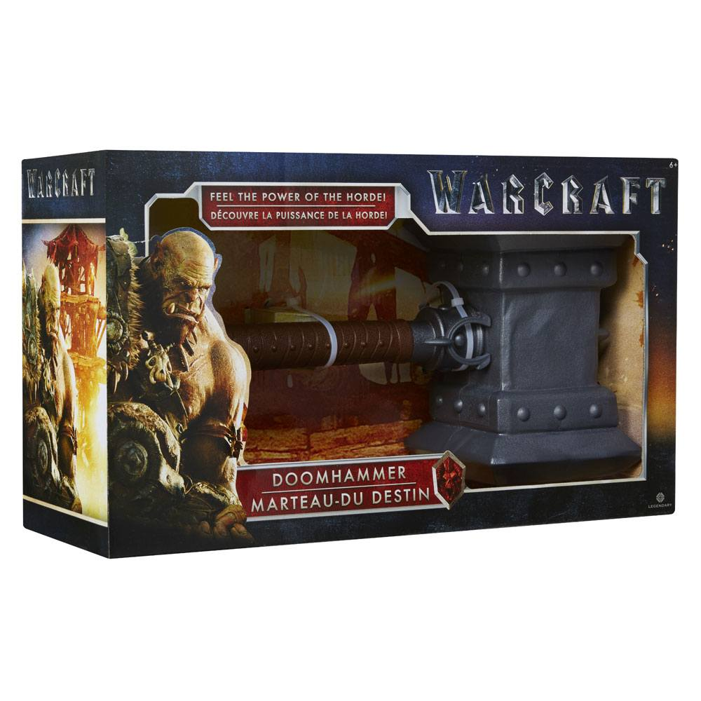 Photo du produit REPLIQUE WARCRAFT MARTEAU DU DESTIN 35 CM