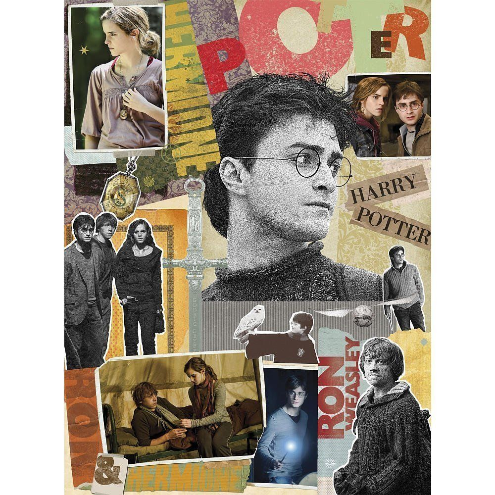 Photo du produit PUZZLE HARRY POTTER SCRAPBOOK JIGSAW (1000 PCS) 51X69CM