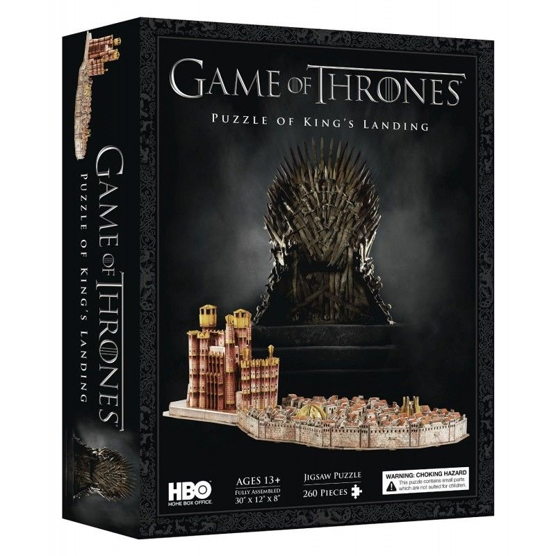 Photo du produit 4D CITYSCAPE - GAME OF THRONES / KING'S LANDING 3D PUZZLE