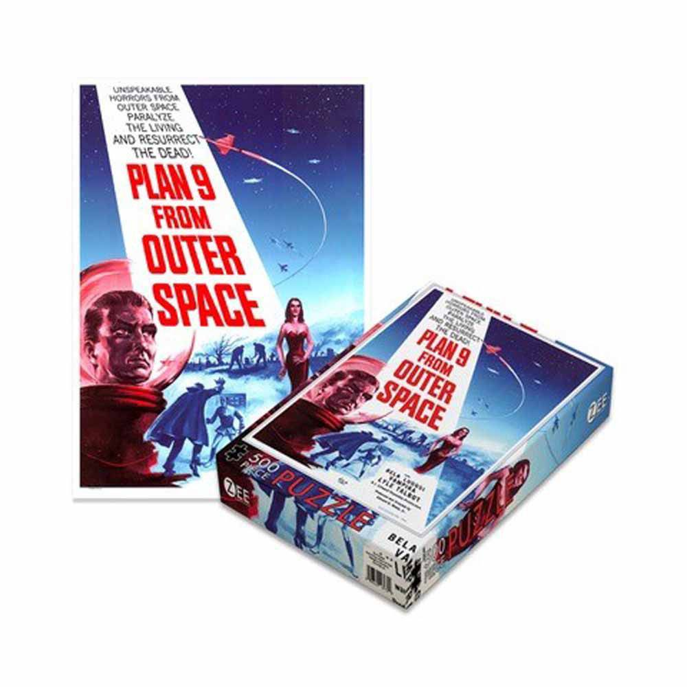 Photo du produit PLAN 9 PUZZLE FROM OUTER SPACE 500 PIECES