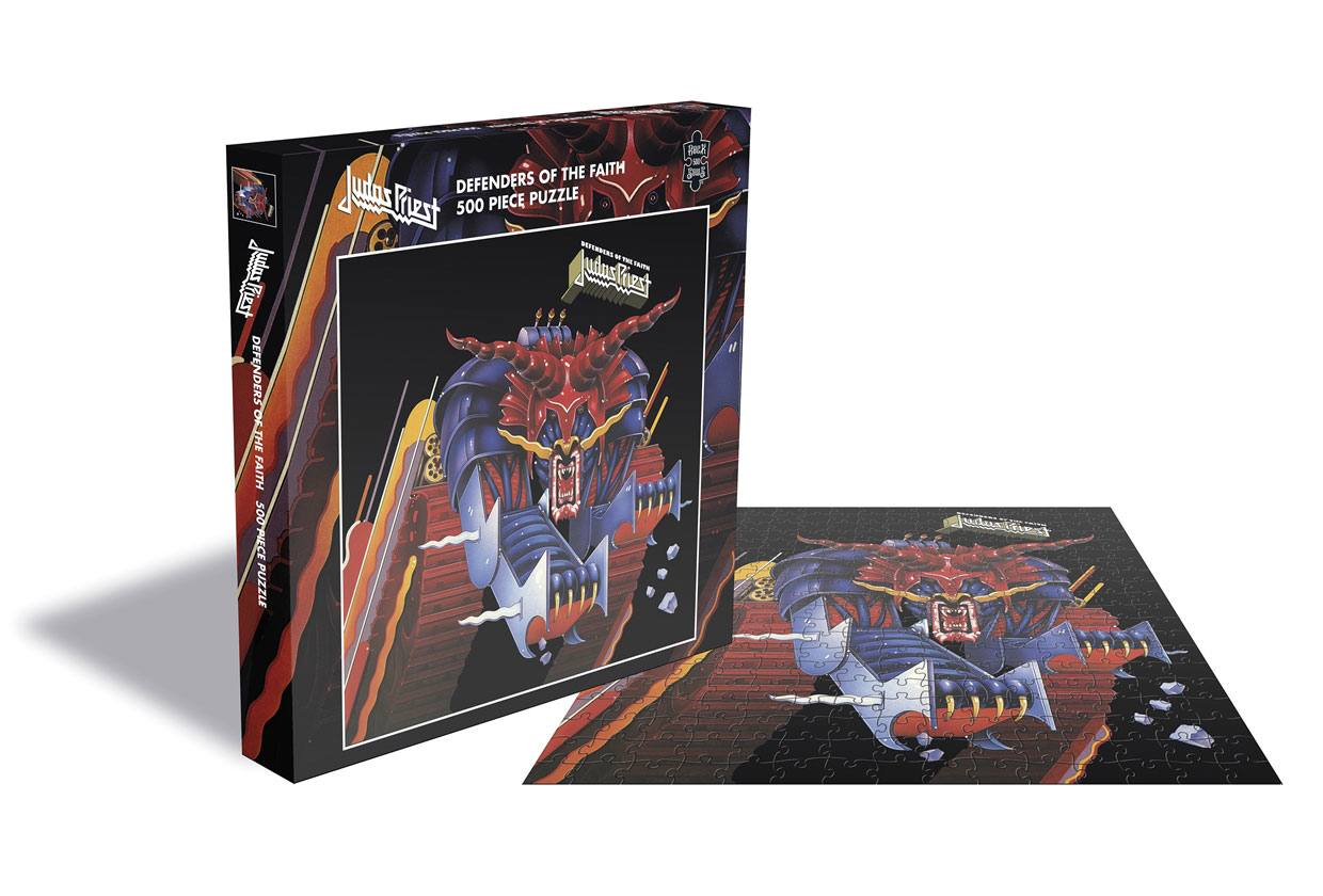 Photo du produit PUZZLE JUDAS PRIEST DEFENDERS OF THE FAITH 500 PIECES