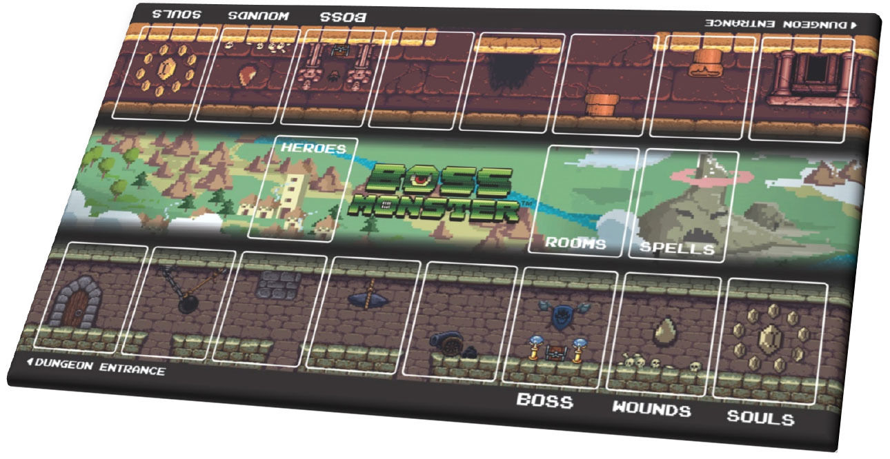 Boss Monster Play Mat Tapis De Jeu