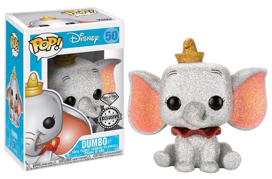 Photo du produit FIGURINE FUNKO POP DISNEY DUMBO GLITTER EXCLU