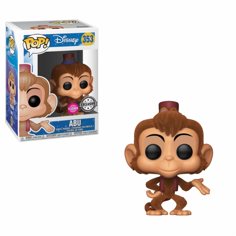 Photo du produit FIGURINE FUNKO POP ALADDIN ABU FLOCKED EXCLUSIVE