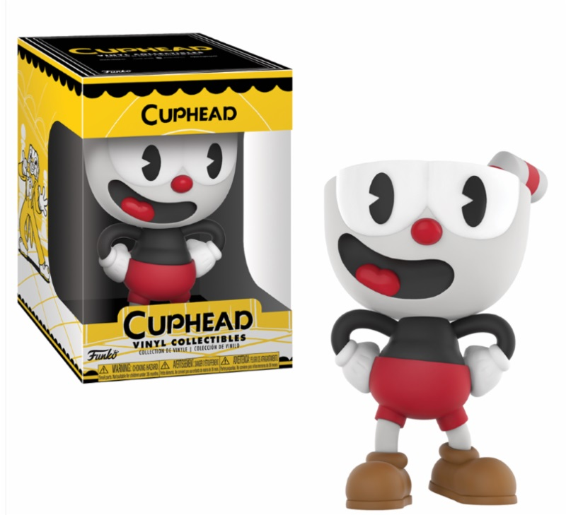 Photo du produit CUPHEAD FIGURINE VINYL COLLECTIBLE CUPHEAD 10 CM