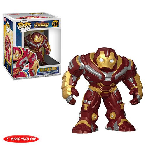Photo du produit MARVEL FUNKO POP AVENGERS INFINITY WAR HULKBUSTER OVERSIZED 15CM