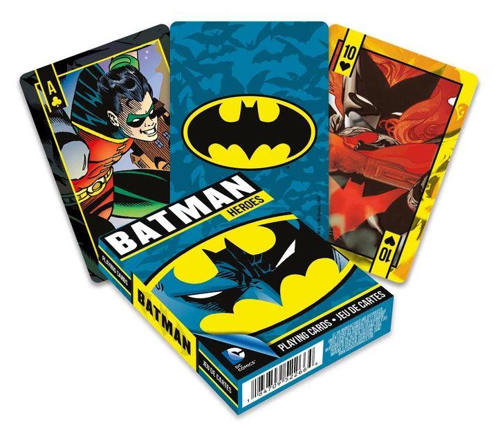 Photo du produit DC Comics jeu de cartes à jouer Batman Heroes