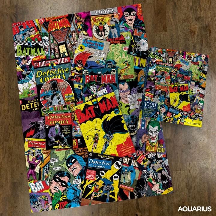 Photo du produit DC COMICS PUZZLE BATMAN COLLAGE (1000 PIÈCES)