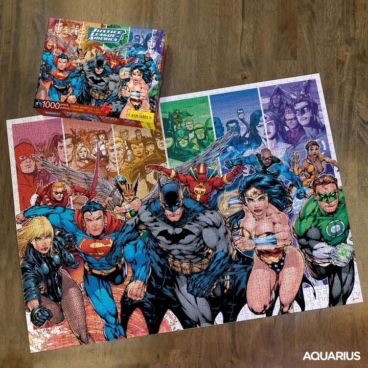 Photo du produit DC COMICS PUZZLE JUSTICE LEAGUE (1000 PIÈCES)