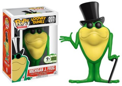 Photo du produit EMERALD CITY COMICON EXCLUSIVES FUNKO POP LOONEY TUNES #207 MICHIGAN J. FROG