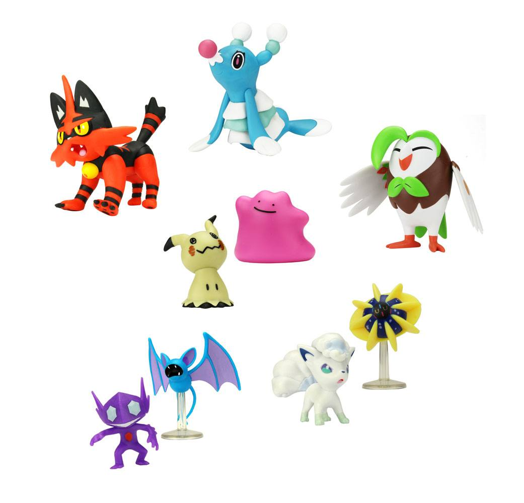 Photo du produit POKEMON SÉRIE 2 ASSORTIMENT PACKS FIGURINES BATTLE 5-7 CM