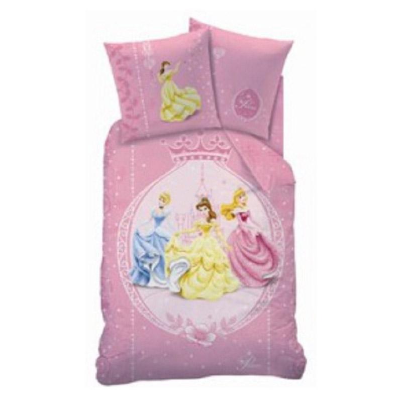 parure de lit disney princesse 160 x 200 cm. Black Bedroom Furniture Sets. Home Design Ideas