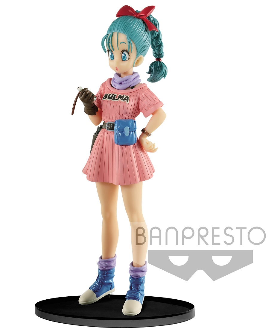 Photo du produit FIGURINE DBZ SCULTURES BULMA 16CM - BANPRESTO
