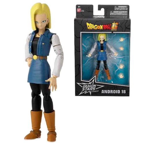 Photo du produit FIGURINE BANDAI DELUXE ANDROID 18 DRAGON BALL SUPER