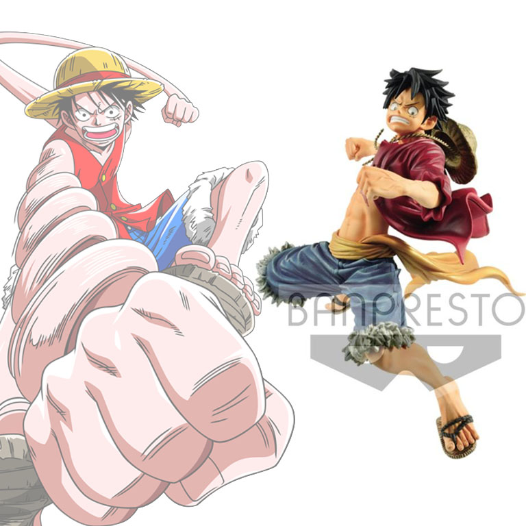 Photo du produit FIGURINE ONE PIECE BANPRESTO WORLD FIGURE COLOSSEUM SPECIAL MONKEY D LUFFY