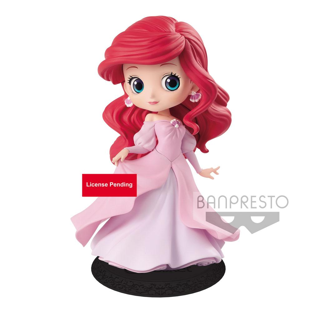 Photo du produit DISNEY FIGURINE Q POSKET ARIEL PRINCESS DRESS B (PINK DRESS) 14 CM