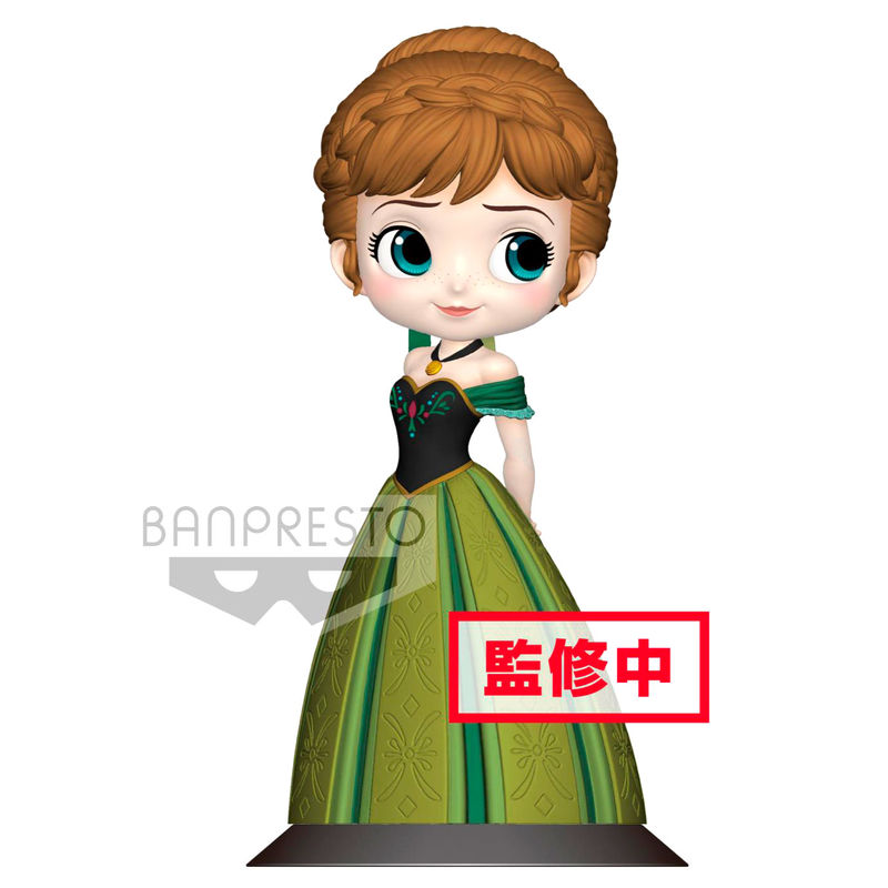 Photo du produit FIGURINE BANPRESTO DISNEY LA REINE DES NEIGES ANNA CORONATION VERSION A 14 CM