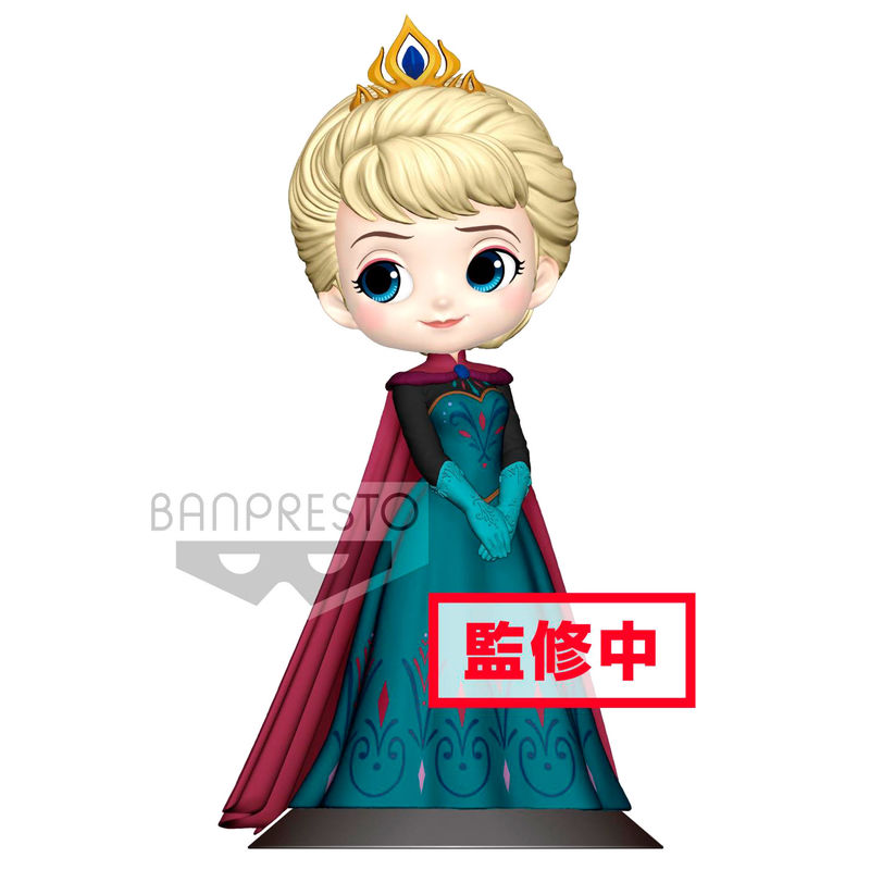 Photo du produit FIGURINE BANPRESTO DISNEY LA REINE DES NEIGES ELSA CORONATION VERSION A 14 CM