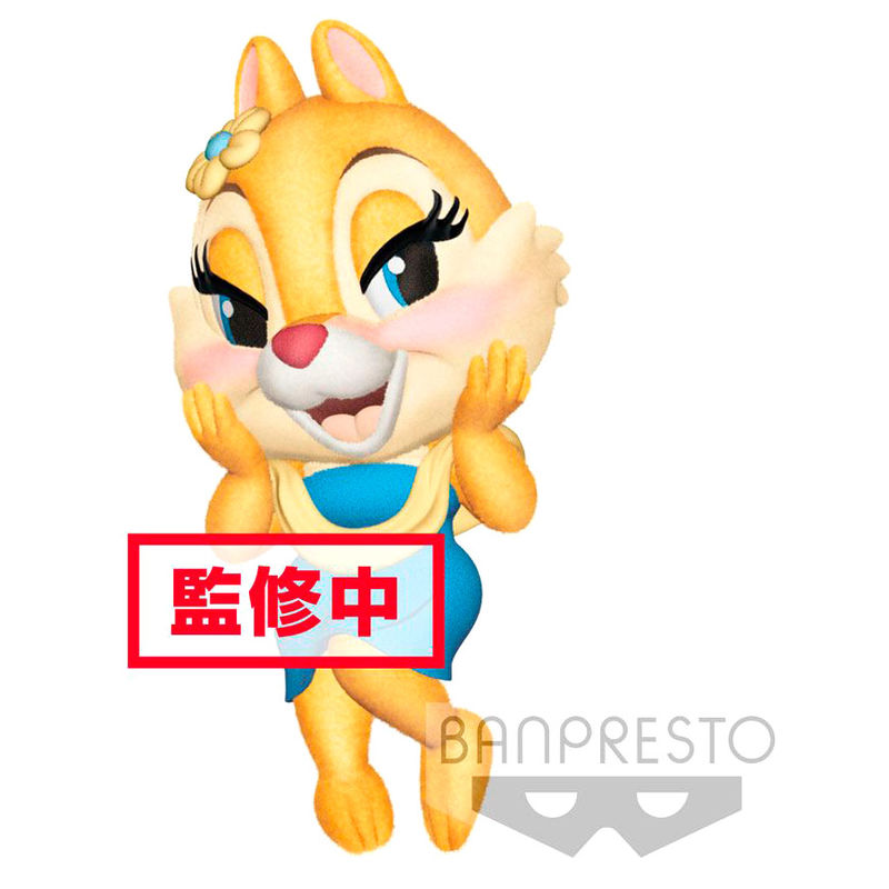 Photo du produit DISNEY FIGURINE FLUFFY PUFFY TIC ET TAC: CLARICE 7 CM