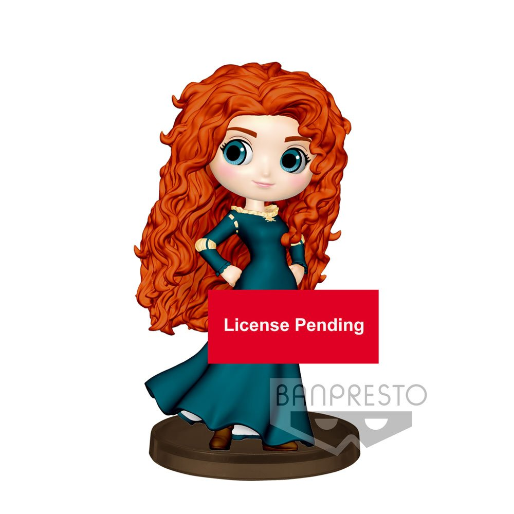 Photo du produit FIGURINE BANPRESTO MERIDA BRAVE DISNEY Q POSKET 7CM