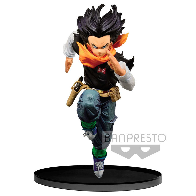 Photo du produit DRAGONBALL Z STATUETTE PVC BWFC ANDROID 17 NORMAL COLOR VER.