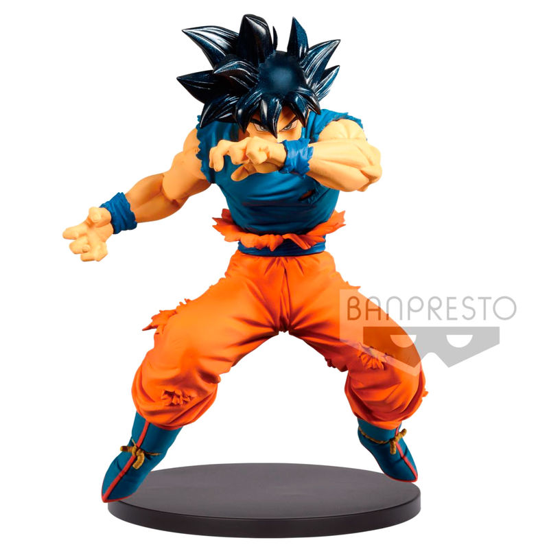 Photo du produit DRAGONBALL Z STATUETTE PVC BLOOD OF SAIYANS ULTRA INSTINCT SIGN SON GOKU