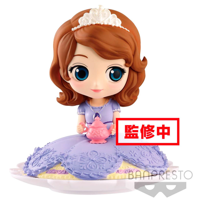 Photo du produit DISNEY FIGURINE Q POSKET SUGIRLY SOFIA NORMAL COLOR VER. 9 CM