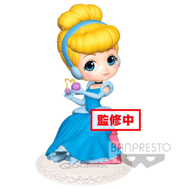 Photo du produit DISNEY FIGURINE Q POSKET PERFUMAGIC CINDERELLA NORMAL COLOR VER. 12 CM