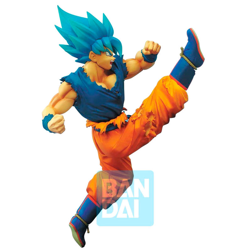 Photo du produit DRAGON BALL SUPER STATUETTE PVC Z-BATTLE SUPER SAIYAN GOD SUPER SAIYAN SON GOKU 16 CM
