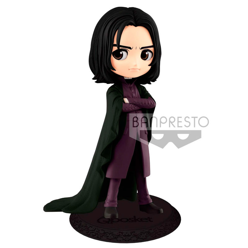Photo du produit HARRY POTTER FIGURINE Q POSKET SEVERUS SNAPE A NORMAL COLOR VERSION 14 CM