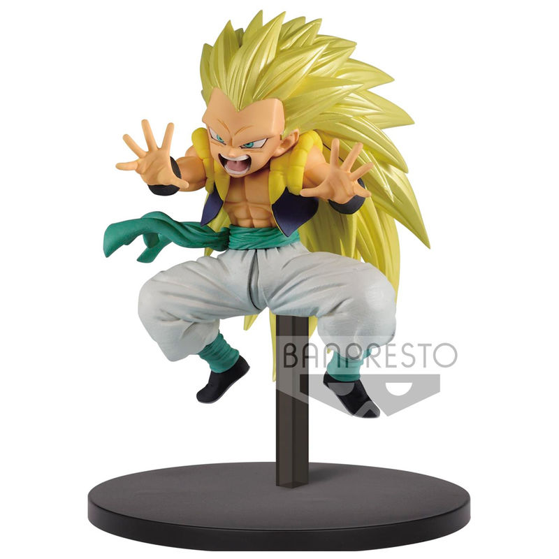 Photo du produit DRAGON BALL SUPER STATUETTE PVC CHOSENSHIRETSUDEN SUPER SAIYAN 3 GOTENKS 10 CM