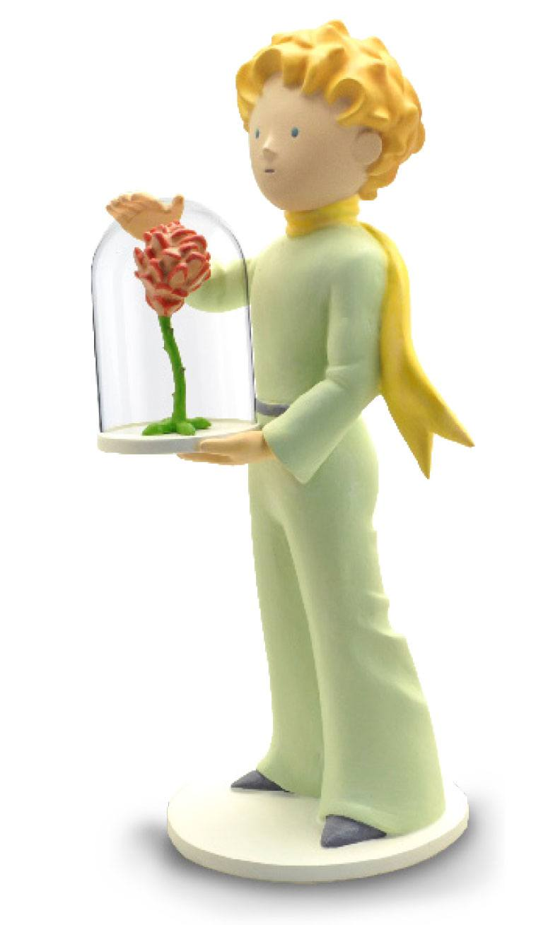 Photo du produit LE PETIT PRINCE STATUETTE COLLECTOR COLLECTION LE PETIT PRINCE ET LA ROSE 21 CM