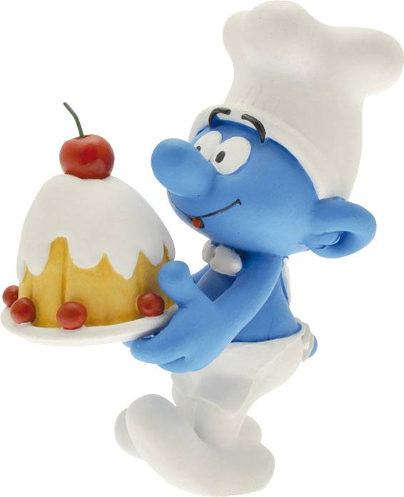 Photo du produit STATUETTE COLLECTOR COLLECTION SCHTROUMPF PATISSIER 15 CM