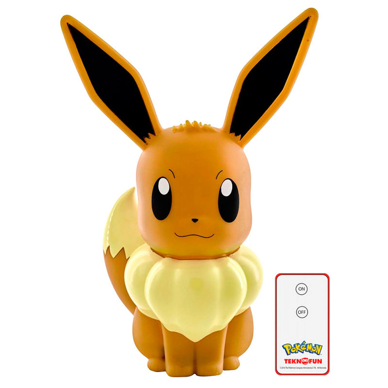 Photo du produit LAMPE LED 3D EEVEE POKEMON
