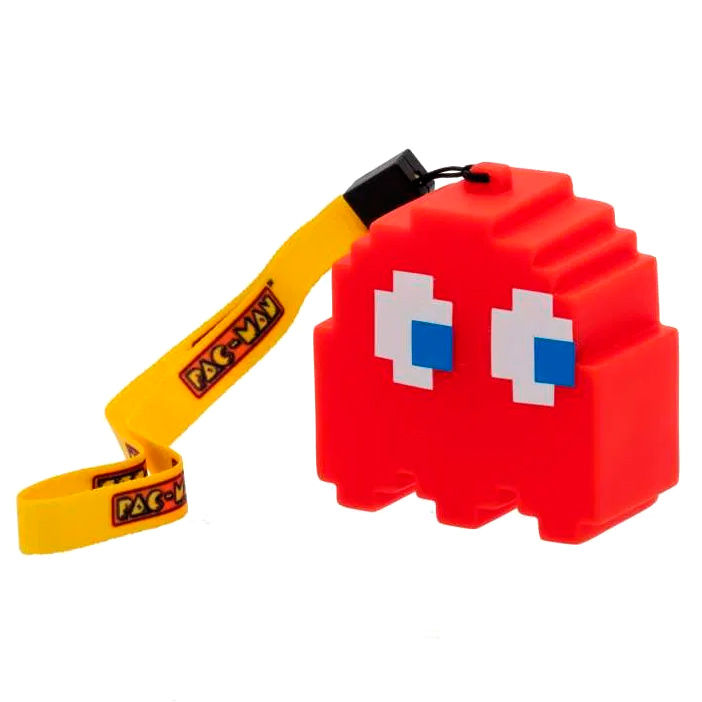 Photo du produit LAMPE LED 3D FANTOME ROUGE PAC-MAN