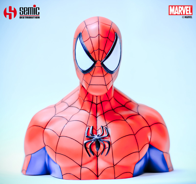 Photo du produit MARVEL COMICS BUSTE / TIRELIRE SPIDER-MAN 17 CM