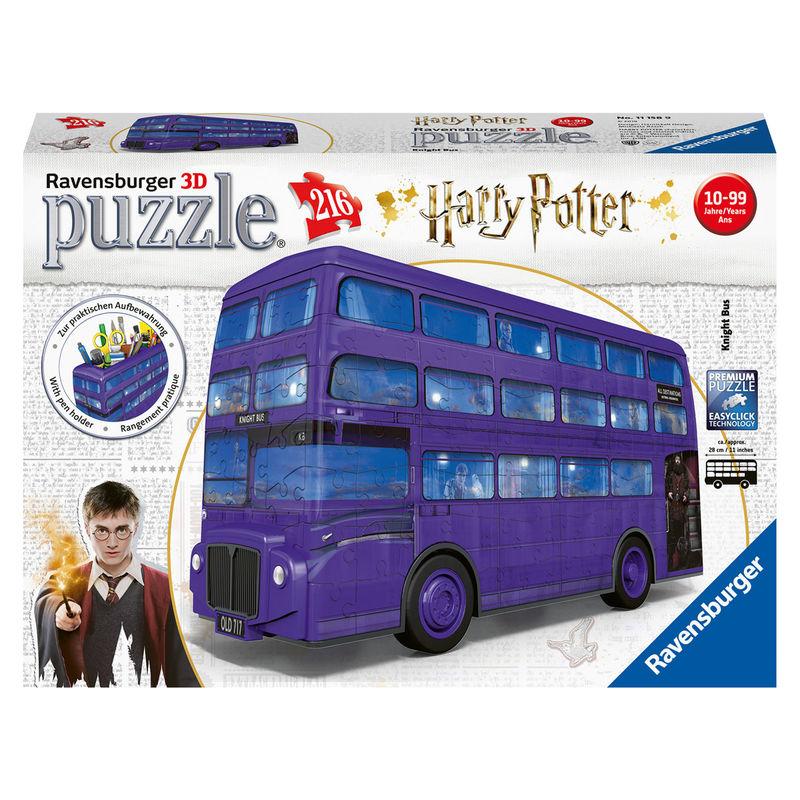 Photo du produit PUZZLE 3D AUTOBUS NOCTAMBULO HARRY POTTER