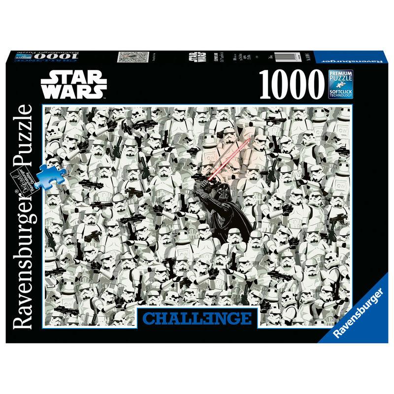 Photo du produit PUZZLE CHALLENGE STAR WARS 1000 PIÈCES