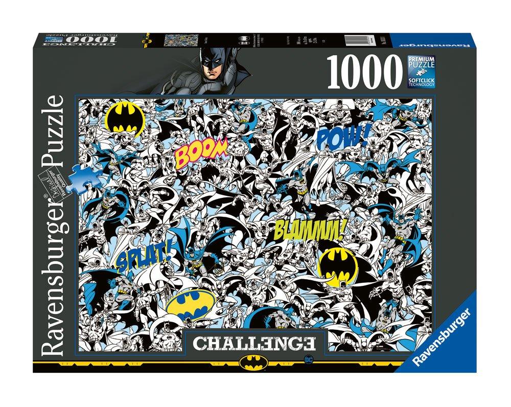 Photo du produit DC COMICS CHALLENGE PUZZLE BATMAN (1000 PIÈCES)