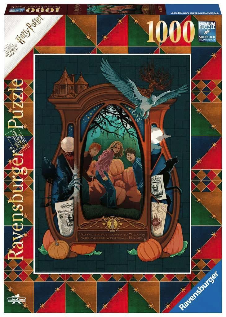 Photo du produit HARRY POTTER PUZZLE THE SECRET OF AZKABAN (1000 PIÈCES)