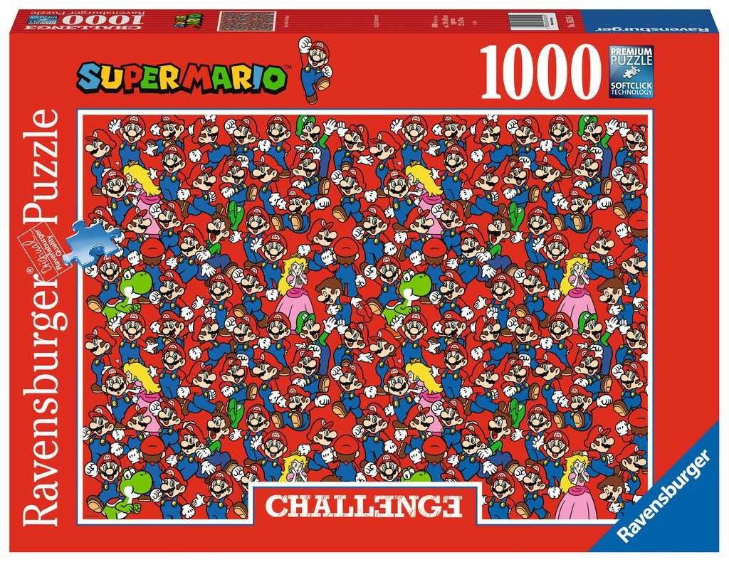 Photo du produit Nintendo Challenge puzzle Super Mario Bros (1000 pièces)