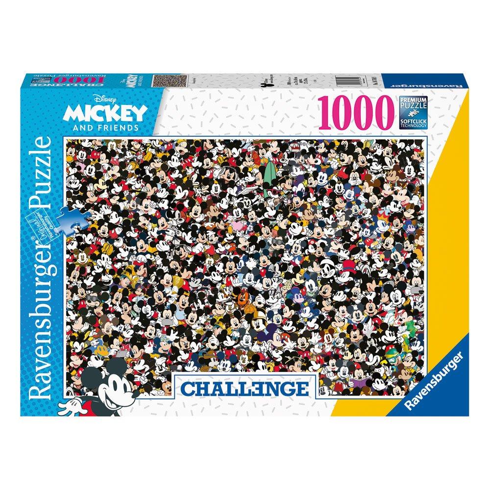 Photo du produit DISNEY CHALLENGE PUZZLE MICKEY MOUSE (1000 PIÈCES)