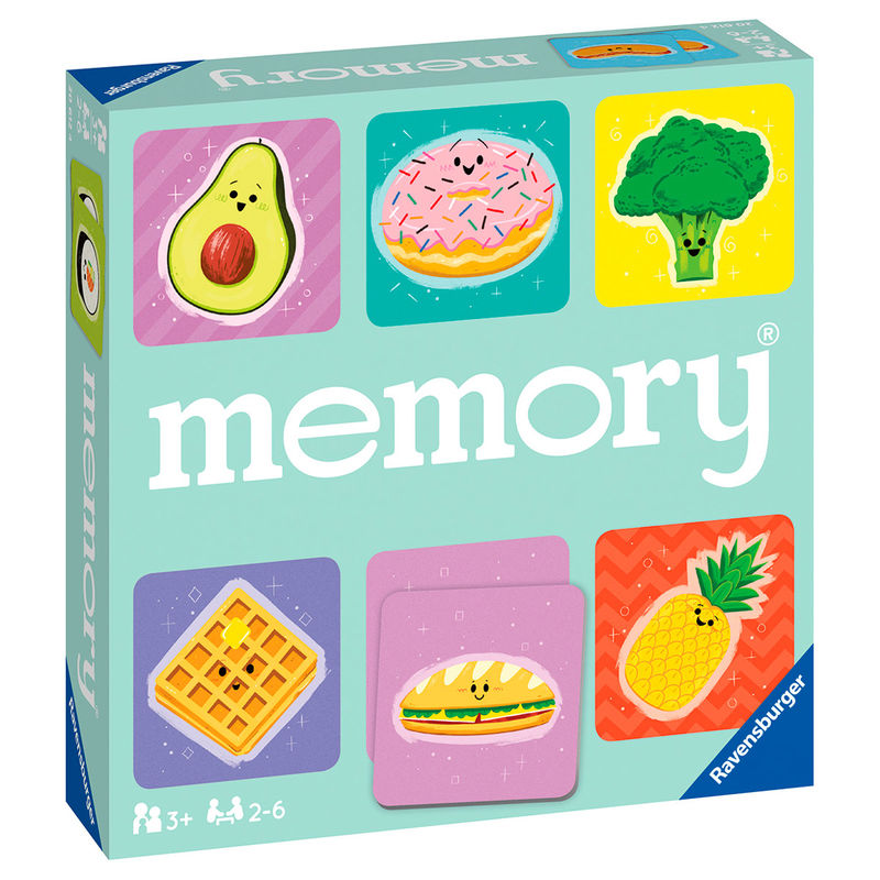 Photo du produit JEU MEMORY FUNNY FOOD