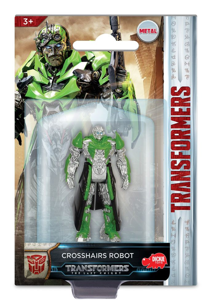Photo du produit TRANSFORMERS LE DERNIER CHEVALIER CROSSHAIRS ROBOT 1/64 METAL