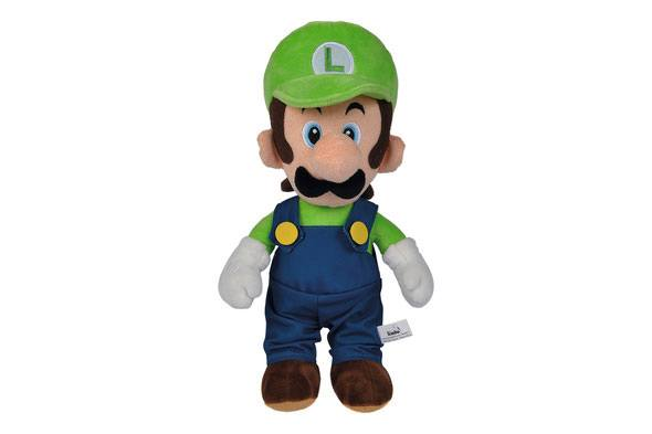 Photo du produit SUPER MARIO PELUCHE LUIGI 30 CM